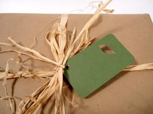 brown paper grocery bag gift wrap. Black Bedroom Furniture Sets. Home Design Ideas
