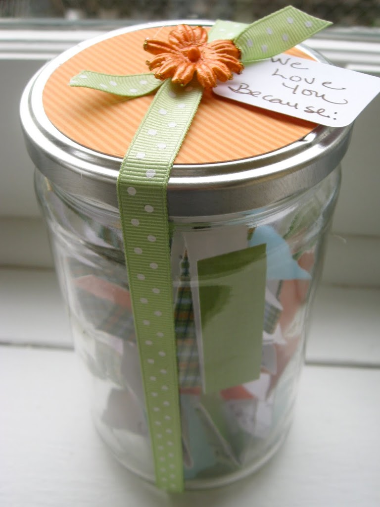 A Gift Of Love In A Jar New Nostalgia