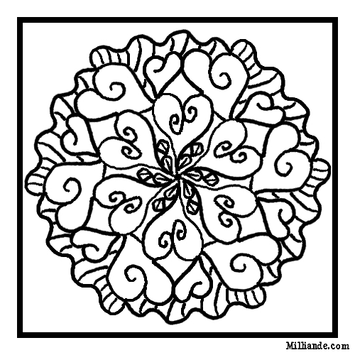 Mosaic Valentine Coloring Pages Coloring Pages For 8 And Up Free