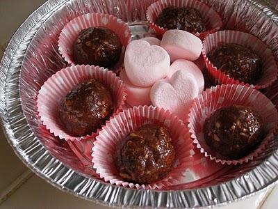 valentine mud balls