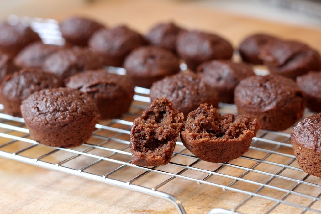 Brownie Bites With A Surprise Ingredient To Make Them Moist