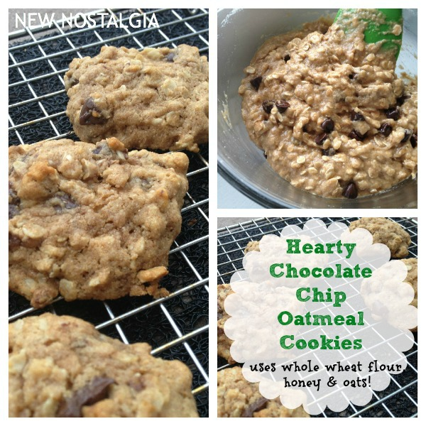 My New Favorite Go -To Chocolate Chip Oatmeal Cookie Recipe