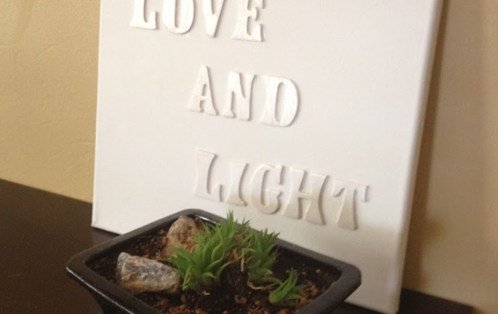 DIY Personalized Canvas