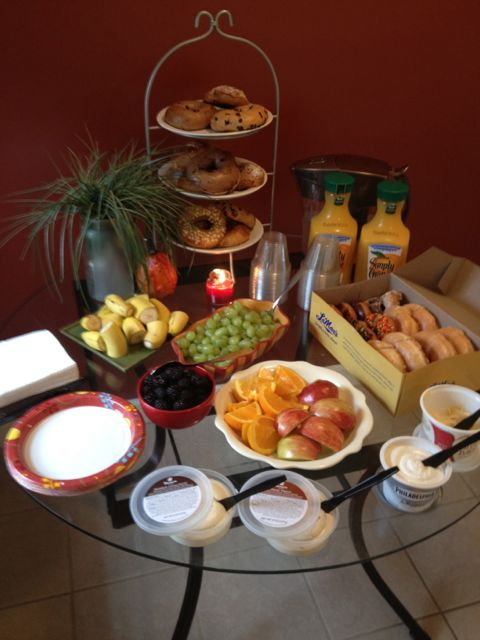 Last Minute Continental Breakfast For 12 New Nostalgia