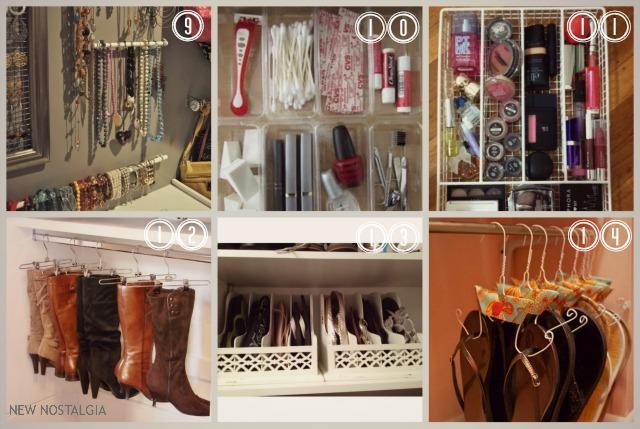 14 ways to organize a bedroom new nostalgia