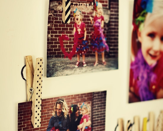DIY Photo-Holder Magnets