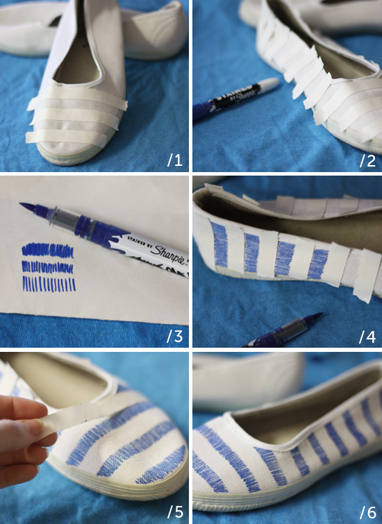Making your own patterned flats