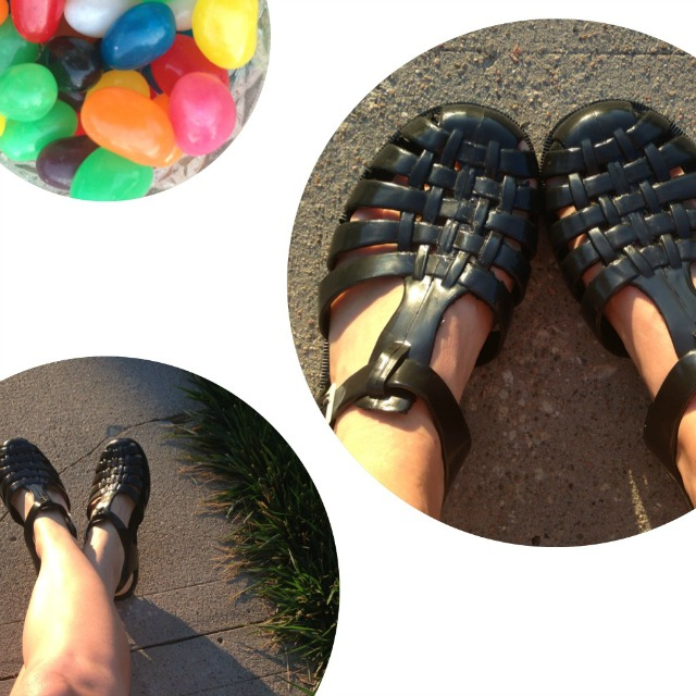 m  duses in situ on Pinterest | Jelly Shoes, Jelly Sandals and