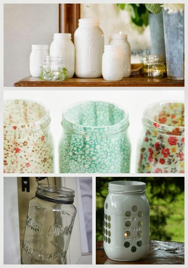 24 best diy mason jar vases votives amp photo holders new nostalgia