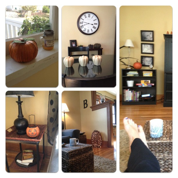 Minimal Halloween Home Decor