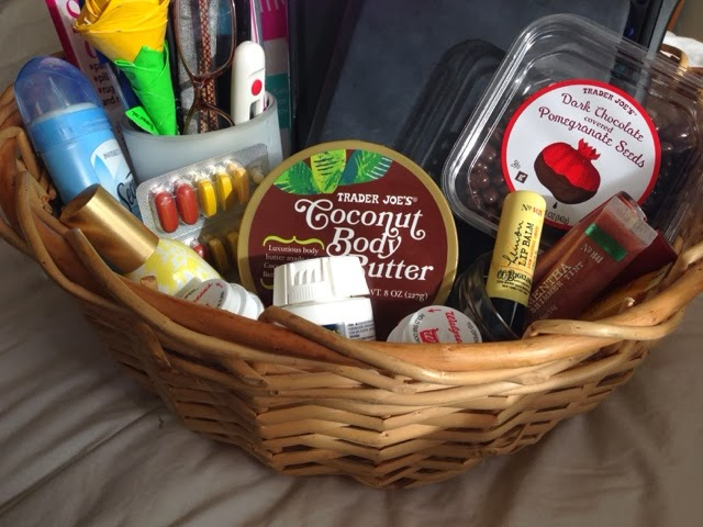 A By The Bed Basket A Great Gift Idea For Someone Who
