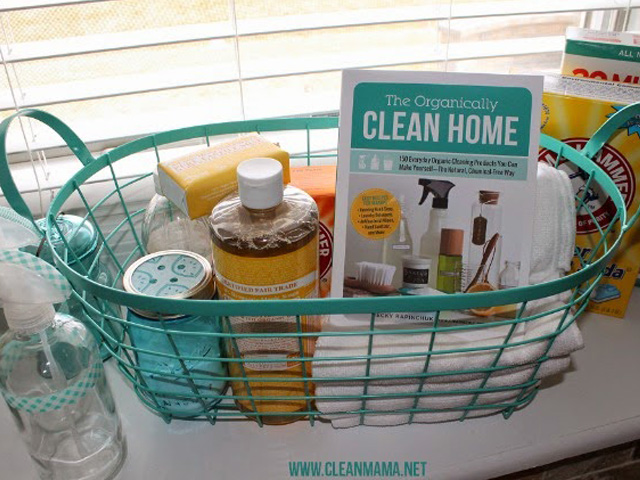 organically clean home