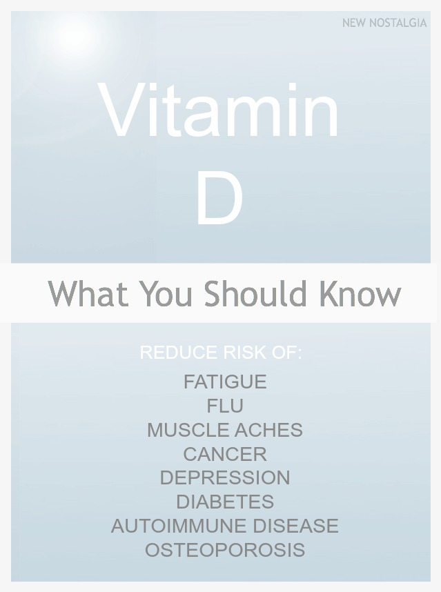 Vitamin D collage