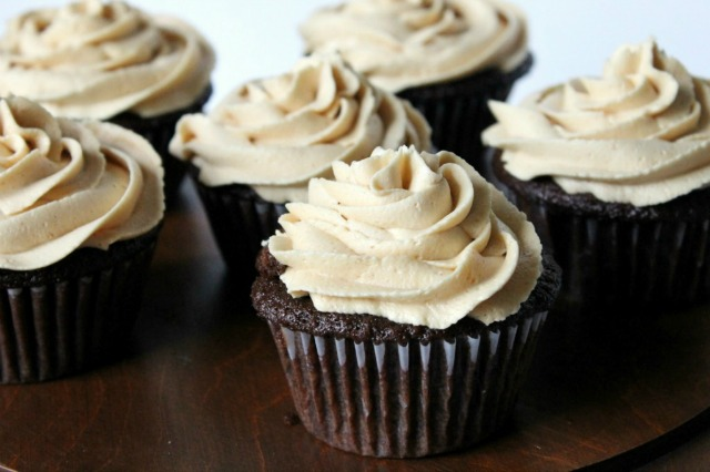 New Nostalgia – Chocolate Peanut Butter Cupcakes