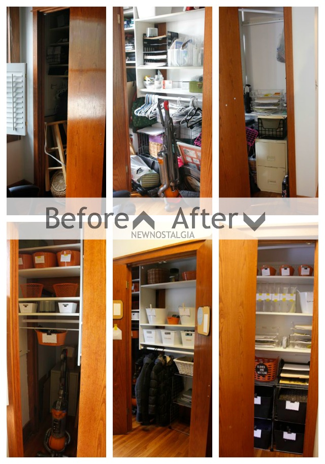 Organizing Before And After: Before And After Home Office Organization
