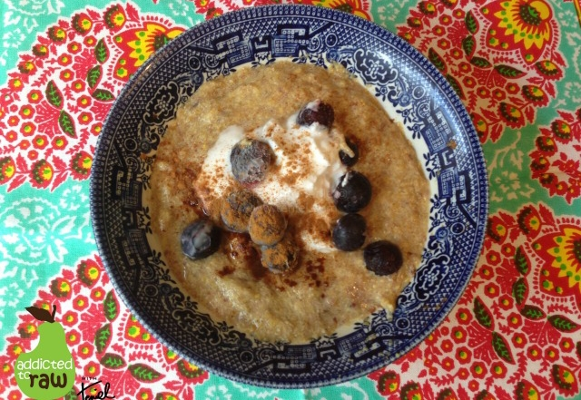Warming Flax Porridge
