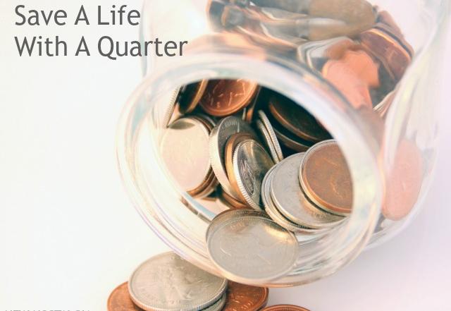 Save A Life With A Quarter