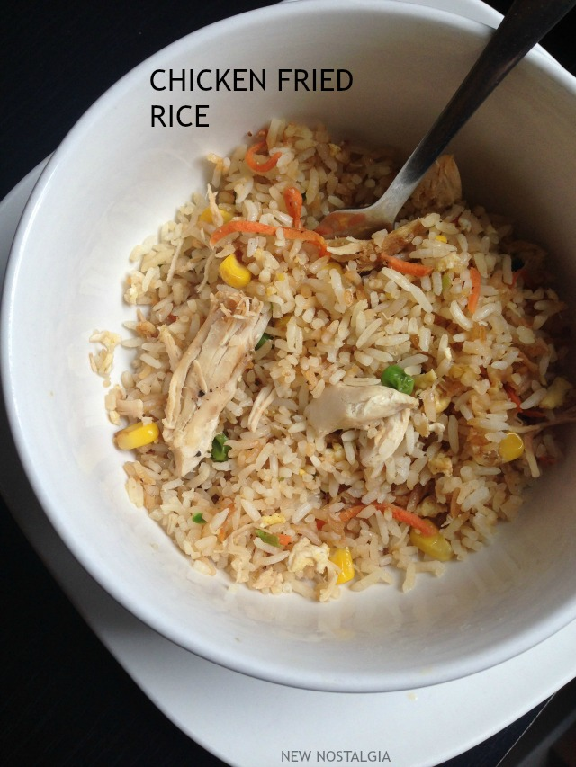 Chicken Fried Rice - New Nostalgia