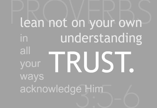 Trust & A Health Update