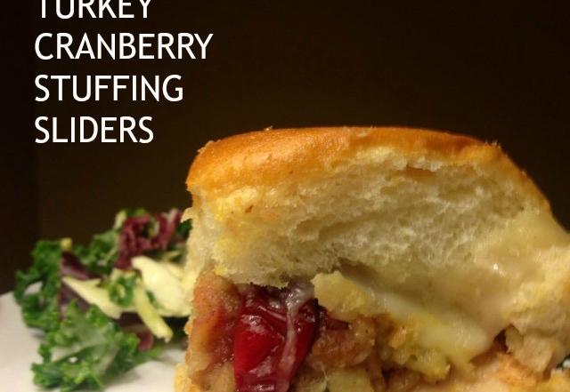 Fabulous Turkey Cranberry Stuffing Sliders