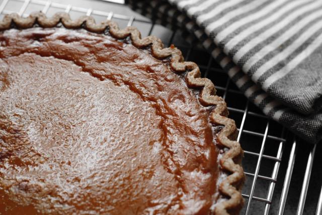 Perfect Pumpkin Pie With A Secret Ingredient