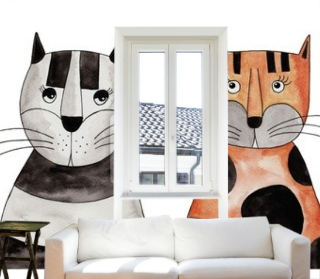 my colsie the cat lover cool cat wall murals new nostalgia